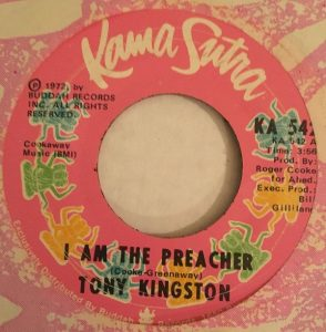 I Am The Preacher by Tony Kingston