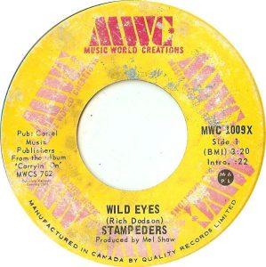 Wild Eyes by The Stampeders