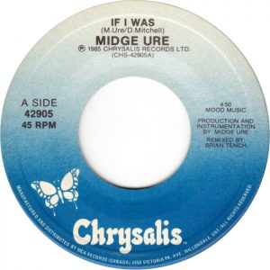 If I Was by Midge Ure