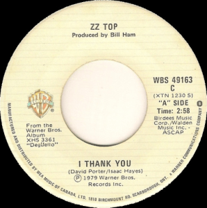 I Thank You by ZZ Top