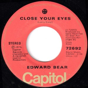 Close Your Eyes by Edward Bear