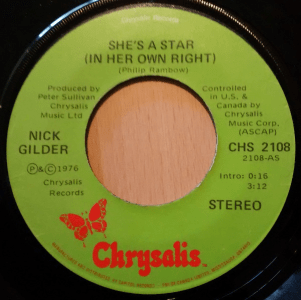 She's A Star (In Her Own Right) by Nick Gilder