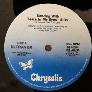 Dancing With Tears In My Eyes by Ultravox