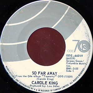 So Far Away by Carole King