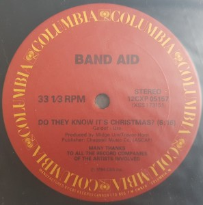 Do They Know It's Christmas? by Band Aid