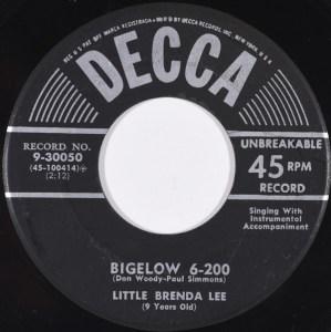 Bigelow 6-200 by Brenda Lee