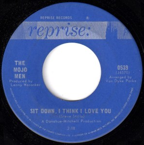 Sit Down I Think I Love You by the Mojo Men