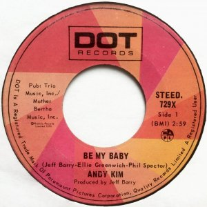 Be My Baby by Andy Kim