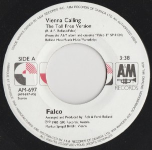 Vienna Calling by Falco