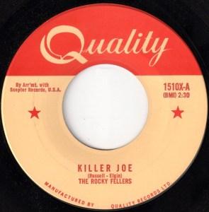 Killer Joe by the Rocky Fellers