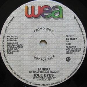 Sandra by Idle Eyes