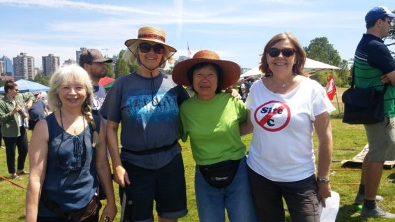 Paddle for the Peace River Valley - Vanier Park, July 2017