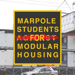 Forum - Students Support Marpole Modular Housing for the Homeless