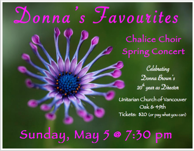 Chalice Choir Spring Concert