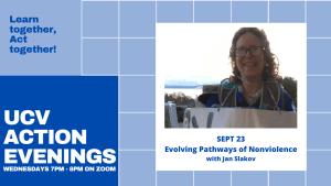 Action Evening - Evolving Pathways of Nonviolence