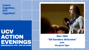 Action Evenings - All Genders Welcome with Morgane Oger