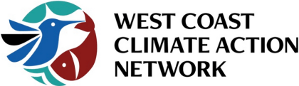 Logo for West Coast Climate Action Network