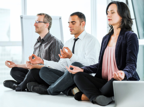 Successful people start their day with meditation