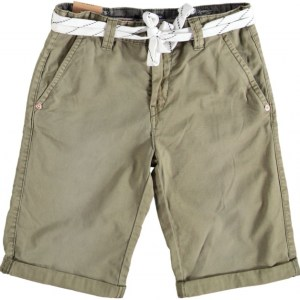 Cars canvas short olive