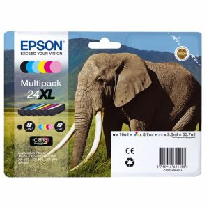 Epson cartridge 24XL Claria Photo HD Ink (6 kleuren)