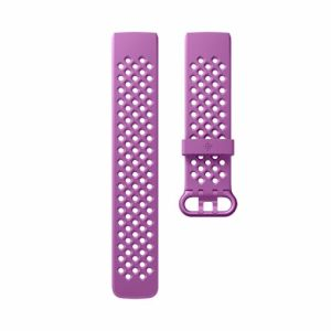 Fitbit Charge 3 sport polsband maat Large (Paars)