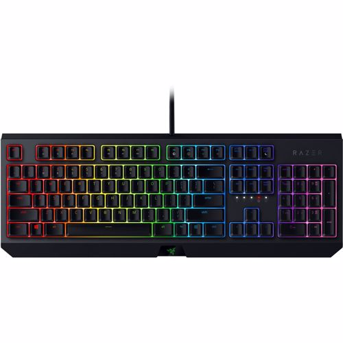 Razer gaming toetsenbord Blackwidow (Green switch)