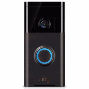 Ring IP camera Video Deurbel (Bruin)