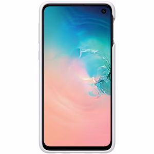 Samsung Protective Standing Cover voor Galaxy S10E (Wit)