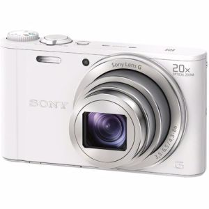 Sony compact camera DSC-WX350 (Wit)