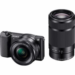 Sony systeemcamera A5100Y incl. 16-50 + 55-210mm lens