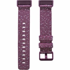 Fitbit Charge 4 gewoven bandje Large (Paars)