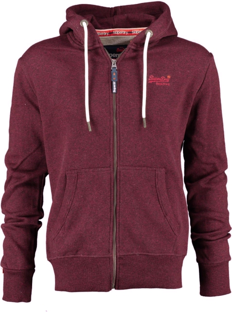 Superdry sweater cranberry grit