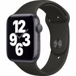 Apple Watch SE GPS 44mm (Zwart) Sportband