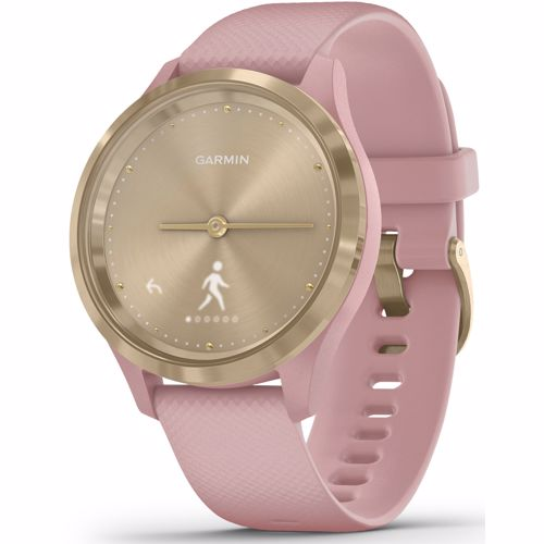 Garmin smartwatch Vivomove 3 Sport (Goud) Band (Roze)