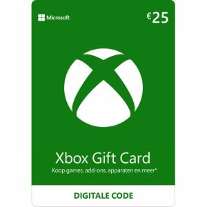 Xbox Gift Card 25 Euro direct download