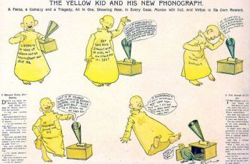 De 'yellow kid' van Richard F. Outcault