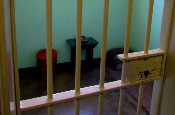 De cel van Nelson Mandela - Foto: CC
