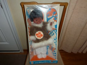 Inuit doll by Regal circa 1970's