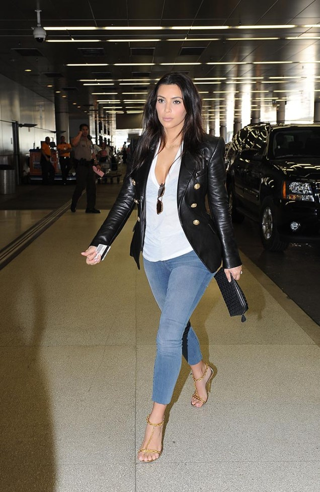 Celebrity Sightings In Miami - March 13, 2014