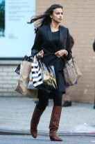 Irina Shayk seen with a shopping bags in the West Village, New York City on May 13, 2013. Pictured: Irina Shayk Ref: SPL540045 130513 Picture by: GSNY / Splash News Splash News and Pictures Los Angeles: 310-821-2666 New York: 212-619-2666 London: 870-934-2666 photodesk@splashnews.com