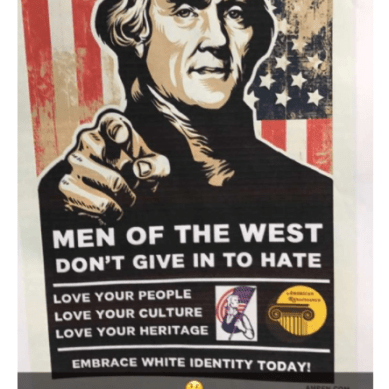 White Supremacist Posters Found in Stevenson Library at Vanderbilt