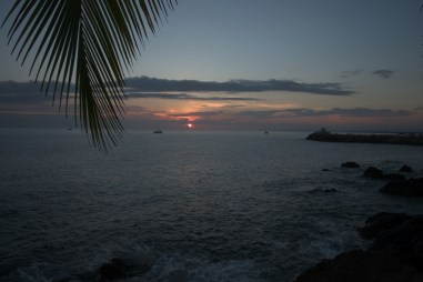 Sunset in Quepos