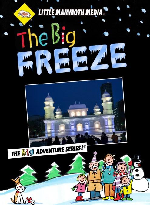 Big Freeze DVD Cover Design
