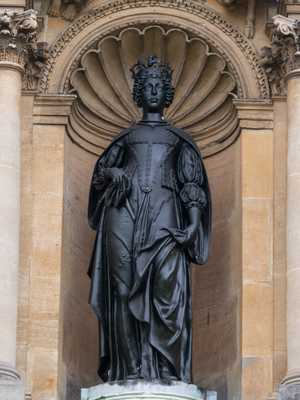 Oxford - King Charles and Queen Henrietta Maria