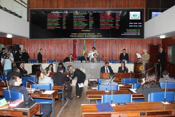Deputados votaram várias matérias na sessão desta terça-feira (imagem da Internet)