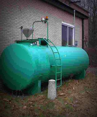 Bovengrondse Opslagtanks – water/bezinksel