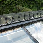 Glashaus Dachspitzen