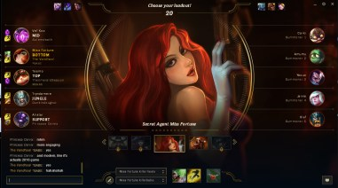 Miss Fortune is a killer babe