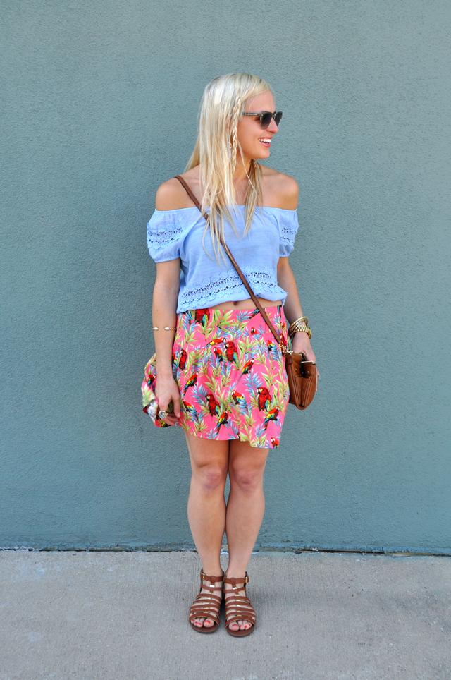 parrot-skirt-colorful-casual-blog-blogger-vandi-fair-lauren-vandiver