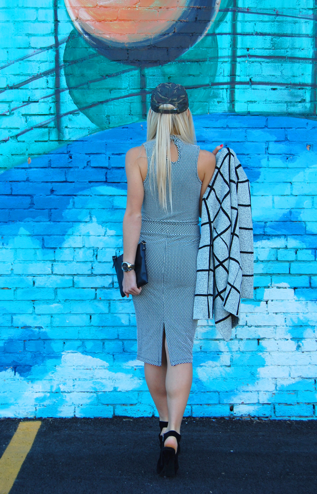 Matching Separates Two Piece Blogger Outfit